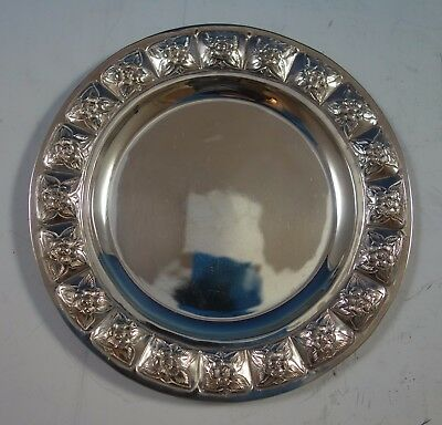 $209 • Buy Aztec Rose By Maciel Mexican Sterling Silver Bread And Butter Plate 6  (#1767)