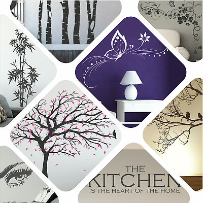 £16.99 • Buy Wall Stickers Quote Vinyl Transfer Decal Decor Interior Home Art Sticker Graphic