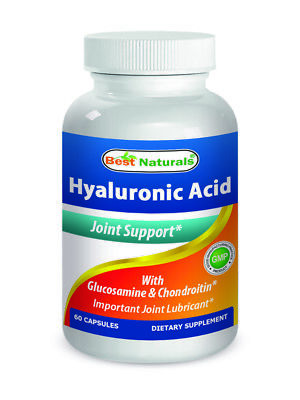 $8.99 • Buy Best Naturals, Hyaluronic Acid 100 Mg 60 Capsules *Joint Health*