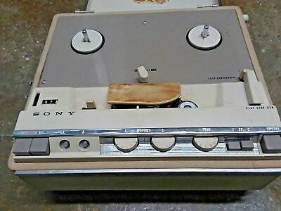 $295 • Buy Mint Working Vintage Sony Tapecorder 464 TC-464 Portable Reel To Reel + Tapes