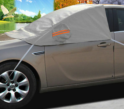 Uv Car Windscreen Cover All Weather Protection Top Cover Dust Snow Frost Ice Chn • 9.99£