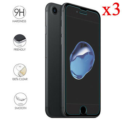 3pcs Tempered Glass Screen Film Protector For Apple IPhone 6 6S 7 7 8Plus SE 5S  • 2.08£