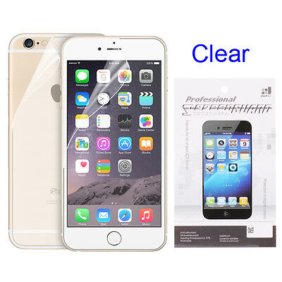 AU2.79 • Buy Front/ Back Clear HD PET Screen Protector Guard Film For Iphone X 8 7 6 Plus