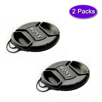 AU9.31 • Buy Sony 40.5mm Lens Cap Cover For Sony A6600 A6500 A6300 Kit 16-50mm Lens (2 Packs)