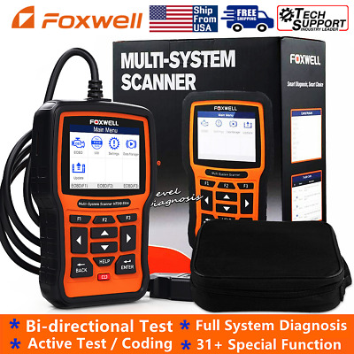 Foxwell NT510 Full System Diagnostic Tool Scanner DPF Battery Electrical System • 149$