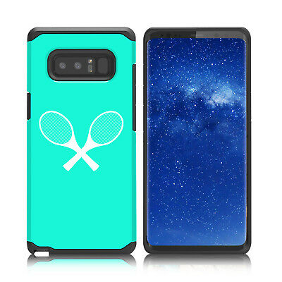 $ CDN19.76 • Buy For Samsung Galaxy Note 8 9 Shockproof Hard Case Cover Tennis Raquets