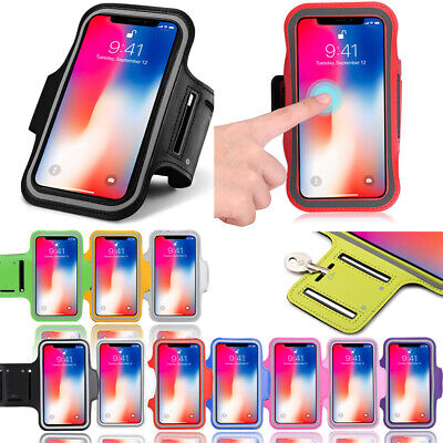 AU10.99 • Buy Fancy Sport Armband For IPhone X 10 Running Jogging Exercise Case Workout Holder