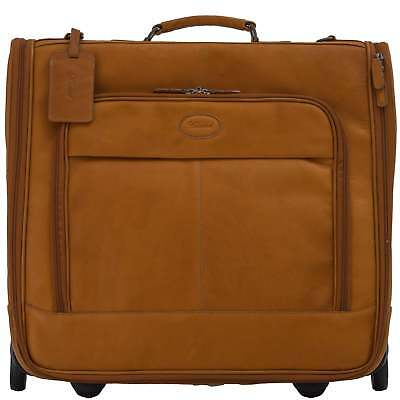 Ashwood Mayfair Wheeled Suit Carrier In Colombian Leather • 238.50£