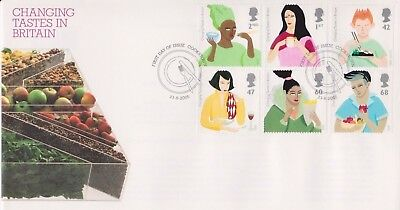 £2.75 • Buy Unaddressed Cookstown Pm Gb Royal Mail Fdc Cover 2005 Changing Tastes  Stamp Set
