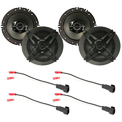 $91.99 • Buy 4 X Sony 6.5-Inch Car Audio Speakers And Wire Harness For Select GM Vehicles Kit