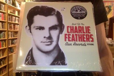 £16.98 • Buy Best Of The Charlie Feathers Sun Records Sessions LP Sealed Black Vinyl