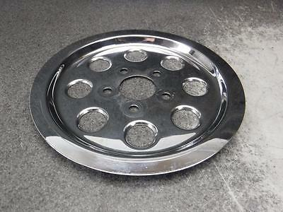 02 Harley Sportster XL883 XL 883 Chrome Drive Pulley Cover 46F • 25.64$