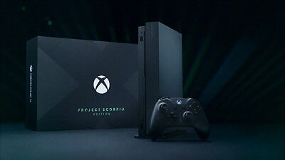 $699 • Buy XBOX ONE X 1TB Project Scorpio Limited Edition. NIB. SOLD OUT FAST FREE SHIPPING