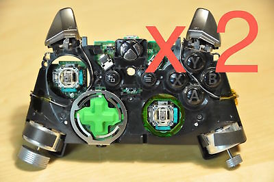 $38.99 • Buy As Is Genuine Xbox One Elite Controller Frame + Buttons + Motherboard Parts X 2