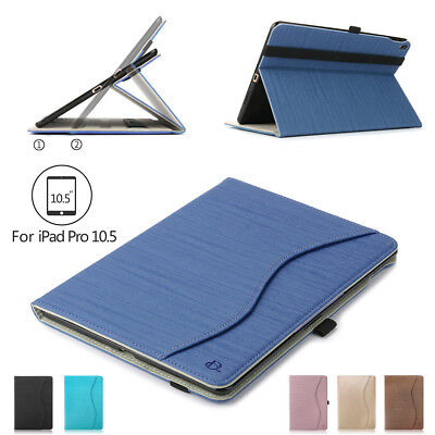 AU15.99 • Buy PU Leather Ipad Case Cover For IPad Pro 10.5/Air 3 Folio Stand Shell W/ Pen Slot