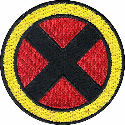 £5.11 • Buy X-MEN Patch 3  Embroidered Iron On Badge XMEN Super Hero Costume Wolverine Rogue