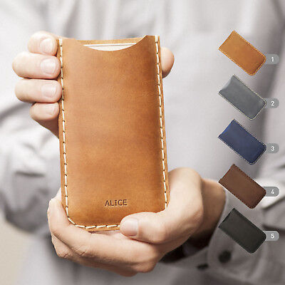 $ CDN65.48 • Buy Personalized Xiaomi Sleeve Pocket Engrave Your Name Or Word Leather Cover Case