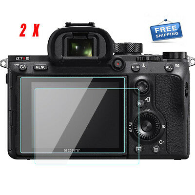 AU10.67 • Buy Sony A7R4 /A7R3 / A7R2/ A7RII  LCD Screen Protector 9H Tempered Glass Film-2Pack