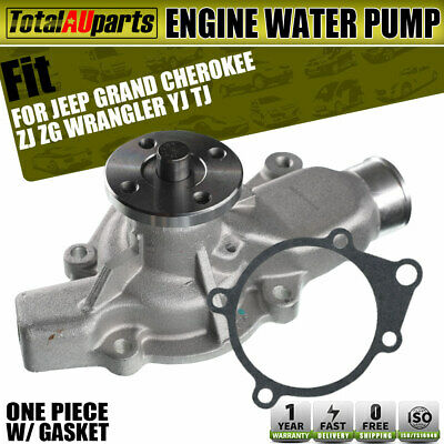 AU45.80 • Buy Water Pump For Jeep Grand Cherokee ZJ ZG 4.0L Wrangler YJ TJ 2.5L 4.0L
