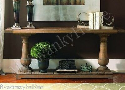 $875.60 • Buy Rustic Wood Pine SPRING CREEK Console Table HORCHOW French Country Sofa Hall
