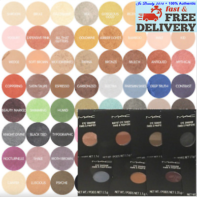 MAC Eye Shadow - Pro Palette Refill Pan Choose Your Shade Brand New • 10.70£