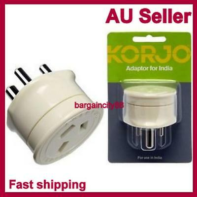 AU19.99 • Buy Travel Adaptor From Australia And New Zealand Travel To India Plug3pin Converter