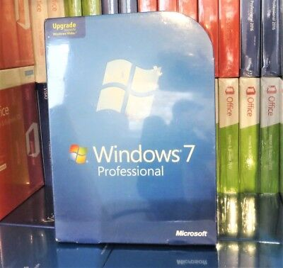 New Sealed Genuine Microsoft Windows 7 Professional Upgrade 32/64-bit X15-29510 • 129.99£