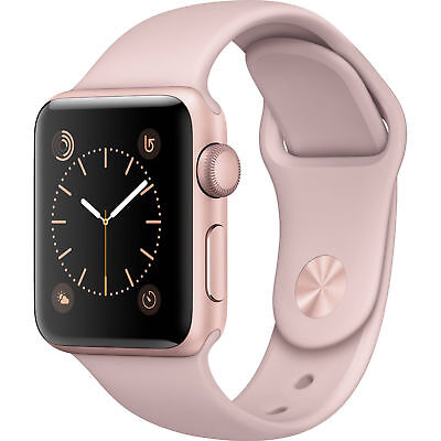 $ CDN481.74 • Buy NEW Apple Watch Series 1 38mm Aluminum Case ROSE GOLD PINK Sport Band WARRANTY