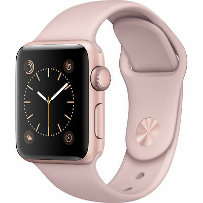 $ CDN473.24 • Buy NEW Apple Watch Series 1 38mm Aluminum Case ROSE GOLD PINK Sport Band WARRANTY