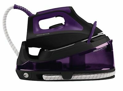 View Details Rowenta Vr7045 Easy Steam Generator Iron, 5,5 Bar, Purple • 49.95£
