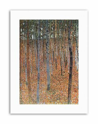 $ CDN21.61 • Buy GUSTAV KLIMT BEECH GROVE I Poster Painting Old Master Canvas Art Prints