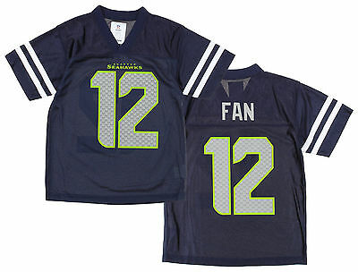 NFL SEAHAWKS De SEATTLE 12th Hombre Youth Fútbol Americano Suéter Camiseta  • 45.38€ 97f4aa59b0e
