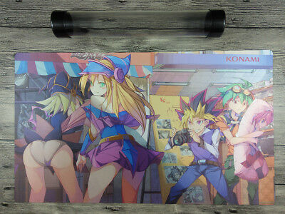 AU32.37 • Buy YuGiOh OCG TCG Custom Playmat CCG Trading Card Game Mat Free High Quality Tube