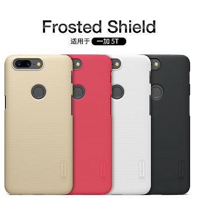 AU9.81 • Buy For OnePlus 5T NILLKIN Super Frosted Shield Matte Hard Plastic Back Covers Cases