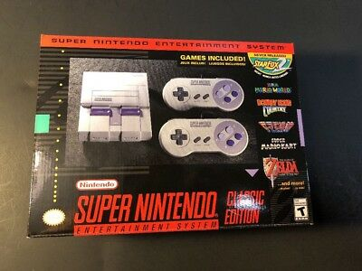 $ CDN275 • Buy Super Nintendo Entertainment System Classic Edition [ SNES Classic ] NEW