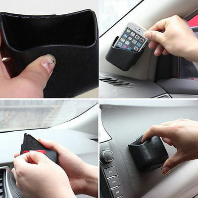 $8.69 • Buy 2X New Universal Car Auto Accessories Glasses Organizer Storage Box Holder Black
