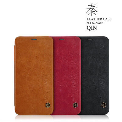 AU14.12 • Buy For OnePlus 5T NILLKIN Qin Classic Leather Flip Wallet Shockproof Case Cover