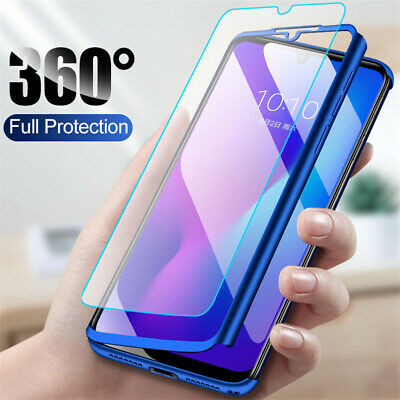 $3.29 • Buy For Xiaomi Mi 9T 9 8 Note 3 F1 A1 A2 A3 Lite Full Cover 360°Case+Tempered Galass