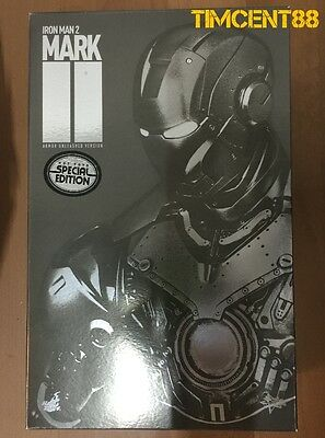 $ CDN665.48 • Buy Ready! Hot Toys MMS150 Iron Man 2 Mark II Armor Unleashed Version 1/6 Special