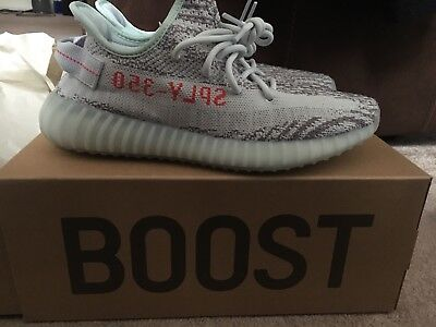 Yeezy Boost 350 V2 Blue Tint SIZE 8.5 AUTHENTIC • 400£