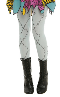 $29.99 • Buy Nightmare Before Christmas Sally Costume Wear Quality Tights Ladies Juniors Size