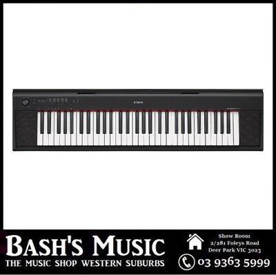 AU399 • Buy Yamaha NP12 61 Key Digital Piano Keyboard NP-12 + Power Supply
