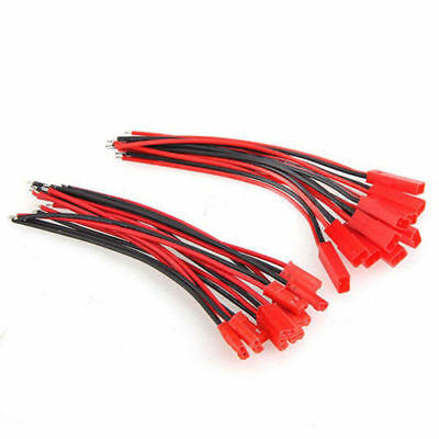 AU3.09 • Buy 10-Pairs 22AWG JST Connector Plug Cable Line Male&Female For RC BEC Lipo Battery