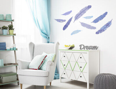 Awesome Wandtattoo Schlafzimmer Federn Pictures - Moderne ...