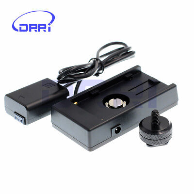 $ CDN63.68 • Buy Battery Adapter Mount Plate F970 To FW50 For Sony A7R A6300 A5100 DSLR Cameras