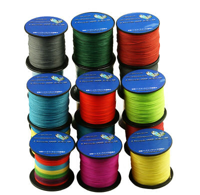 AU6.54 • Buy New 300M 4 Stands Super Strong Testing Multifilament PE Braided Sea Fishing Line