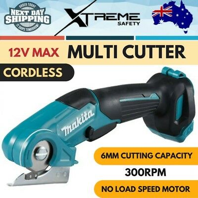 AU134.07 • Buy New Makita 12V MAX Cordless Multi Cutter Skin Only Professional Light Tool