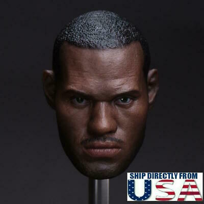 $38.99 • Buy 1/6 LeBron James Head Sculpt 3.0 NBA For Enterbay Hot Toys Coo Male Figure USA