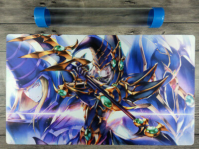 AU32.37 • Buy Dark Magician YuGiOh Duel Battlefield Playmat TCG CCG Mat Free High Quality Tube