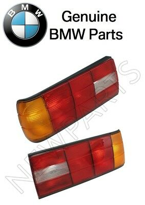 $254.92 • Buy For BMW E30 318i Pair Set Of Left & Right Taillights Lens Genuine